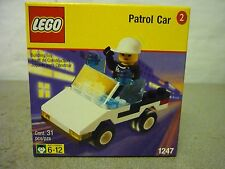 Lego 1247 Patrol Car New Sealed Retired 1999 Town Shell Promo