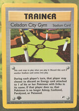 1st Edition Celadon City Gym 107/132 - Gym Heroes - Near Mint