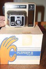Pleaser II Kodak Instant Camera - Vintage - in Original Box w/ Instructions