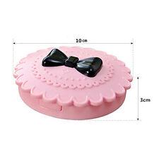 Cute Bow Fairy Ribbon False Eyelash Protect Shape Case Container Pink Box 1