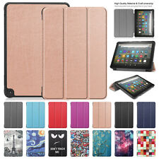 For Amazon Kindle Fire HD 8 Plus 10th 2020 Smart Case Leather Stand Flip Cover