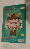 Merry Christmoose Counted Cross Stitch Danglers Kit 157-94 Janlynn NIP