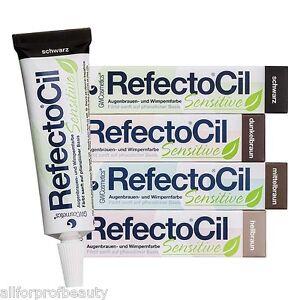 RefectoCil Sensitive Formula Eyelash & Eyebrow TINT, Gel DEVELOPER NEW EU Seller