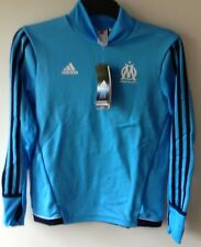 BNWT Adidas Boys Marseille Droit Au But Olympic Training Top 11-12 Years