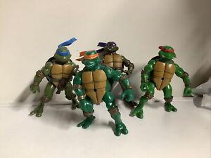 Teenage Mutant Ninja Turtles bundle x4 TMNT Action figures collectable 2002