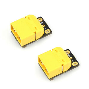 2X Racerstar CS12 180A XT60 2-6S Current Sensor w/ AMASS Plug 10cm Long 12 AWG