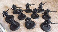 Lot of Ten (10) Long Gunner Infantry kit USED Warmachine Privateer Press metal