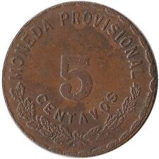 1915 Mexico - Oaxaca 5 Centavos Revolutionary Coinage KM#717