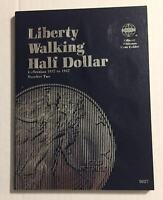LIBERTY WALKING HALF (1937-1947) #9027 COIN FOLDER BY WHITMAN-NEW OLD STOCK