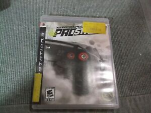 Need for Speed: ProStreet (Sony PlayStation 3, 2007) PS3 Complete w/ Manual