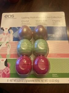 EOS Lasting Hydration Lip Care Collection 6 Pack