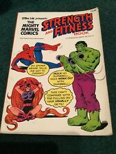 Stan Lee - Mighty Marvel Comics Strength And Fitness - Vintage Marvel Comics '76