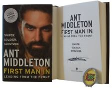 Signed Book - First Man In by Ant Middleton