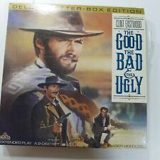 Laserdisc H * The Good The Bad And The Ugly * Clint Eastwood Eli Wallach LTRBX
