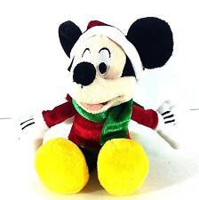 Disney Mickey Mouse Santa Claus Plush Stuffed Animal Dan Dee Collectors Choice