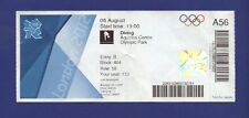 Orig.Ticket    Olympic Games LONDON 2012 -  Women's 3 m springboard FINAL  !!