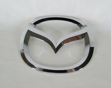 MAZDA 6 TRUNK EMBLEM 14-15 BACK LID OEM CHROME BADGE sign symbol logo