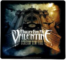 Sticker Bullet For My Valentine Scream Aim Fire Album Art Metal Music Band Decal