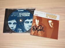 The Hardin & york story signed listes CD everyone best of/autographed dans MINT