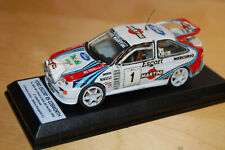 1/43 MONTATO KIT RACING 43, FORD ESCORT RALLY CIOCCO 1993, CUNICO DA RESTAURARE