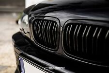 hochglänzend schwarze Nieren 3er BMW E46 Cabrio M VFL Frontgrill salberk 4603DL
