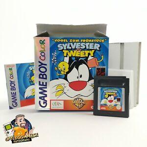 "Nintendo Gameboy Color Spiel "" Sylvester & Tweety "" Game Boy Color GBC   OVP PAL"