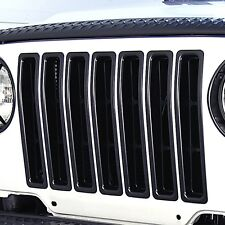 Jeep  Wrangler TJ Grill Inserts Black 1997-2006 391130603 Outland