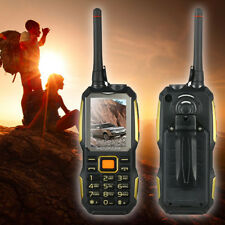 Rugged Phone Dual SIM 2 Way Walkie Talkie Standby for Smartphone FM Radio new