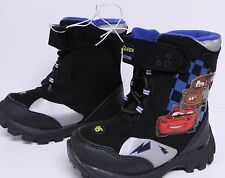 LOT of 10 PAIR OF DISNEY CARS TODDLER BOYS WINTER BOOTS SIZE M 7/8 RESALE