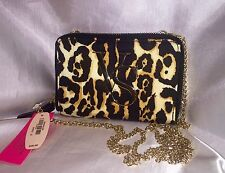 VICTORIAS SECRET LEOPARD CHEETAH CROSSBODY CLUTCH WALLET IPHONE 5/5S/5C CASE
