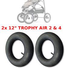"""2 x SCHLAUCH 12 """" ZOLL TROPHY AIR 2 & 4 KINDERWAGEN BABY ROLLER INNEN GUMMI PRAM"""