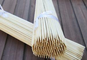 Splittstäbe Bambusstäbe 50cm Rankhilfe Pflanzstäbe Pflanzstütze Bambus Natur
