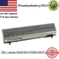5200mAh Battery For Dell Latitude E6400 E6410 E6500 E6510 PT434 Laptop 6 Cells