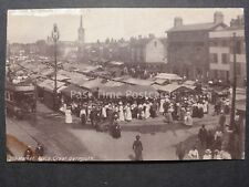 Norfolk THE MARKET PLACE Great Yarmouth - Old RP Postcard by B & R Ltd