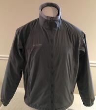 Columbia Winter Jacket Soft Shell Fleece Lined Core Interchange Gray Men's M