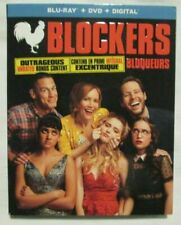 Blockers   Blu-Ray   DVD   Digital Copy  Includes SLIPCOVER