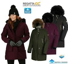 Regatta Ladies SAFIYYA Insulated Waterproof Breathable Jacket Coat Womens ISOTEX