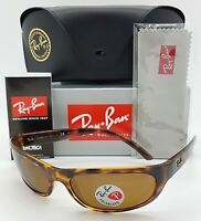 NEW Rayban RB4033 642/47 sunglasses Tortoise Brown Polarized 4033 AUTHENTIC wrap