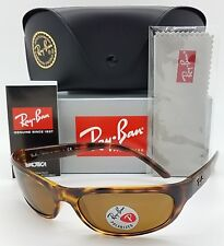 44252051314 NEW Rayban RB4033 642 47 sunglasses Tortoise Brown Polarized 4033 AUTHENTIC  wrap