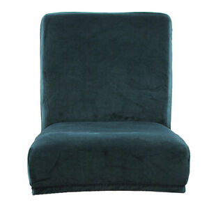 Elastic Short Low-back Dining Chair Seat Covers Bar Stool Slipcover Protector