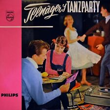 """7"""" ROLF SCHNEEBIEGL Teenager's Tanzparty At The Hop / April Love PHILIPS EP 1958"""