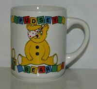 Vintage Coffee Mug Pudsey Bear 1986 BBC Children in Need by Harvergrange PLC