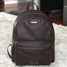 MICHAEL KORS MENS STEPHEN LEATHER BACKPACK BROWN