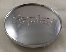 Replay Wheels Chrome Custom Wheel Center Cap Caps # C645-RP / 1