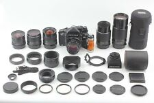 【N MINT+3】 Pentax 67 TTL LATE Camera + 45 55 75 105 200 300mm Lens from JAPAN