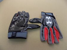NEW Texas Tech Game Issued Under Armour F3 Football Receiver Sticky Gloves/ XXXL