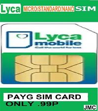 2X Lyca Mobile PAGO Sim Card, Fast And Free Postage,