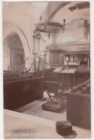 The Old Church Chelsea, London 1908 RP Postcard B741