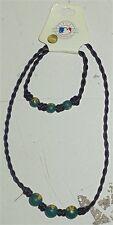 Pine Sport Oakland A's Beaded Nacklace & Bracelet Youth Size