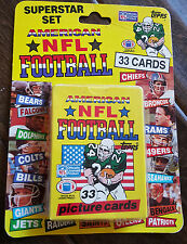 1989 TOPPS UNITED KINGDOM UK UNOPENED NFL CARD SET MONTANA MARINO ELWAY KELLY
